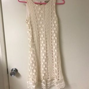 Ivory girls size 12 formal dress